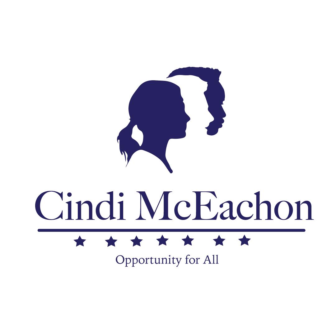 Cindi McEachon Campaign Logo